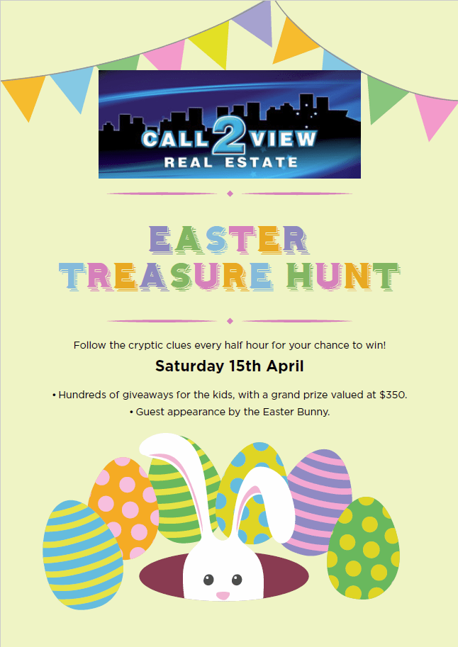 Call2View's Eggstravagant Easter Treasure Hunt